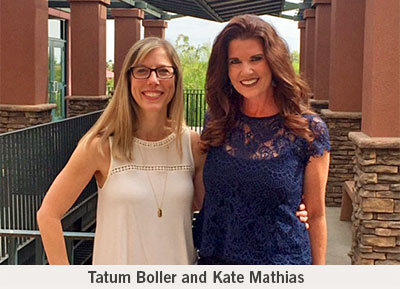 Tatum Boller and Kate Mathias