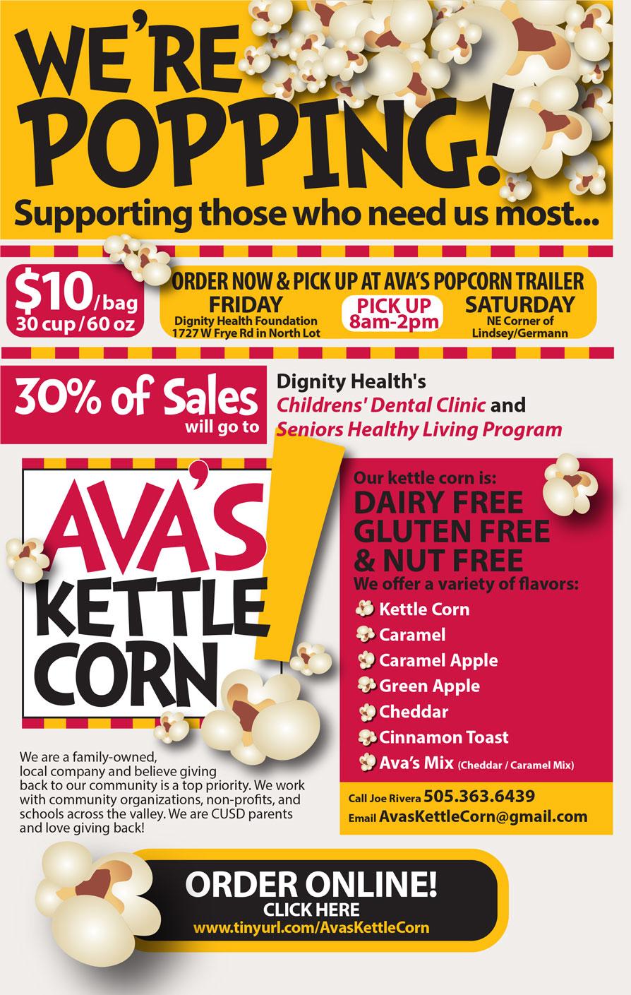 Ava's Kettle Corn