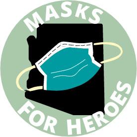 Masks for Heroes Logo
