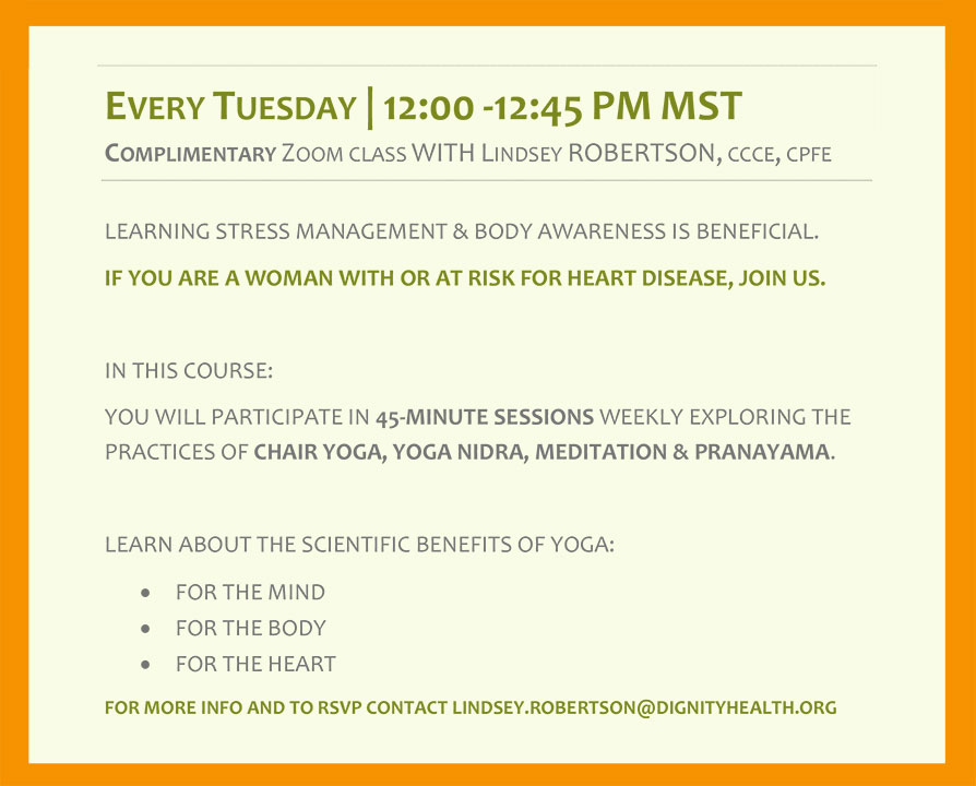 Yoga of the Heart Info